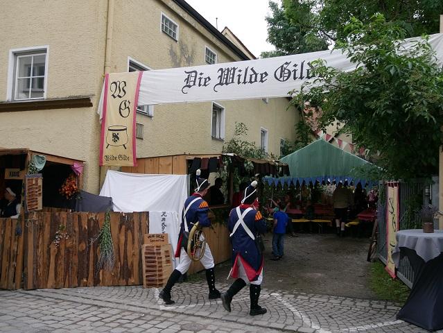 Lager die wilde Gilde - Lagerleben auf dem Tänzelfest Kaufbeuren