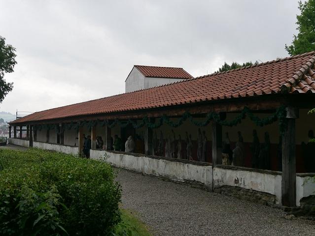 Römischer Tempelbezirk in Kempten - Eingang