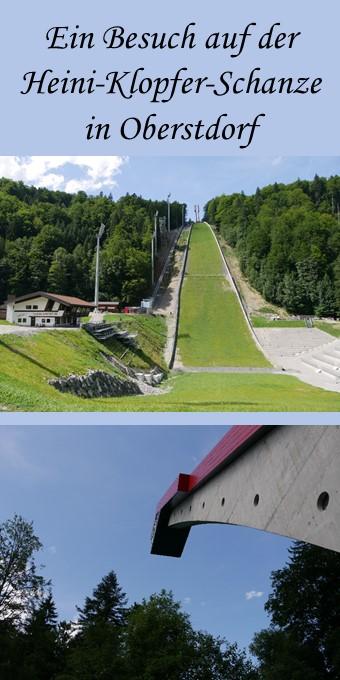 Ein Besuch auf der Heini-Klopfer-Schanze bei Oberstdorf im Sommer