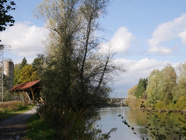 Autobahnbrücke über die Iller bei Kempten-Hegge