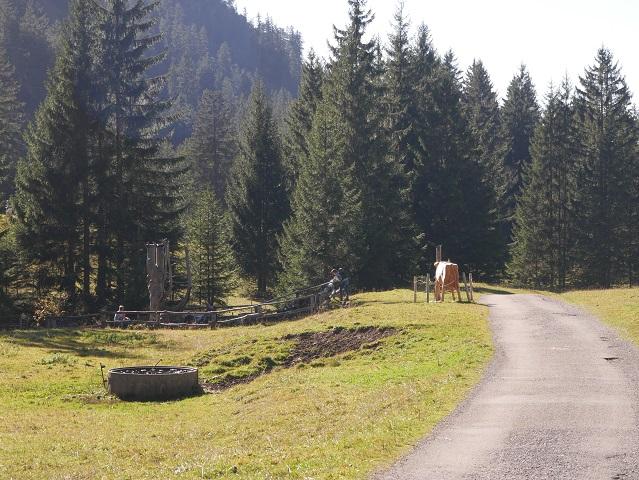 Wasserspielplatz am Erlebnisweg Uff d'r Alp am Nebelhorn
