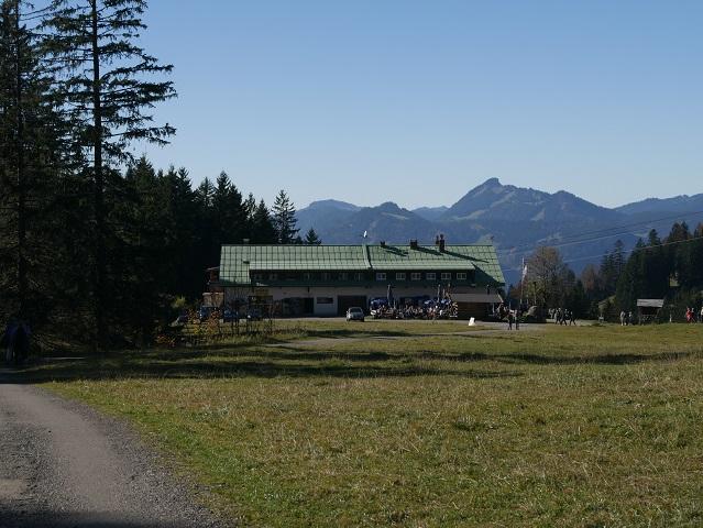 Vordere Seealpe - Berggasthof an der Mittelsttaion der Nebelhornbahn