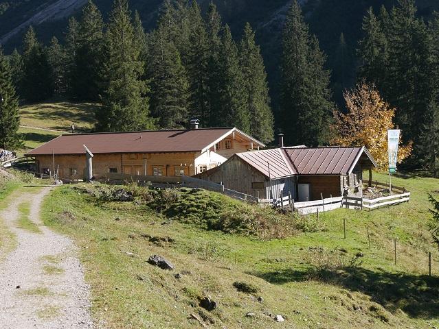 Hofhütte Seealpe am Nebelhorn