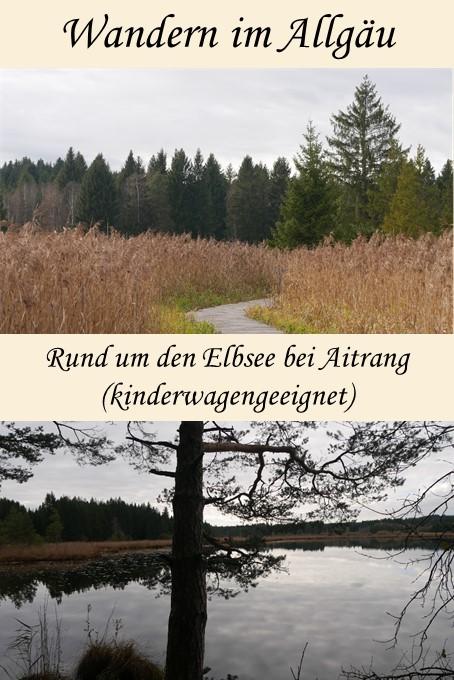 Wanderung rund um den Elbsee - kinderwagengeeignet