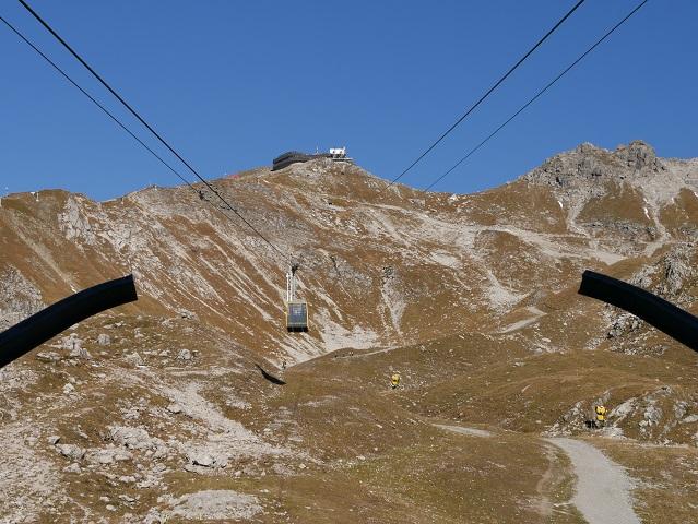 Gondel der Nebelhorn Gipfelbahn