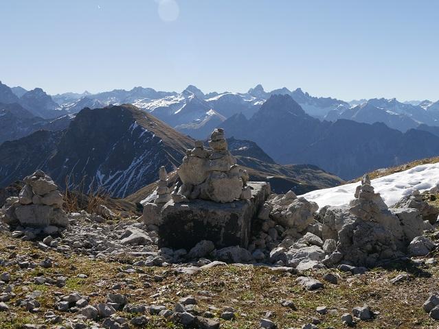 Steinmännchen am Nebelhorn