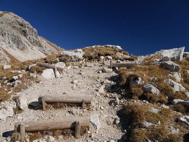 Wanderweg zum Pfannenhölzle am Nebelhorn