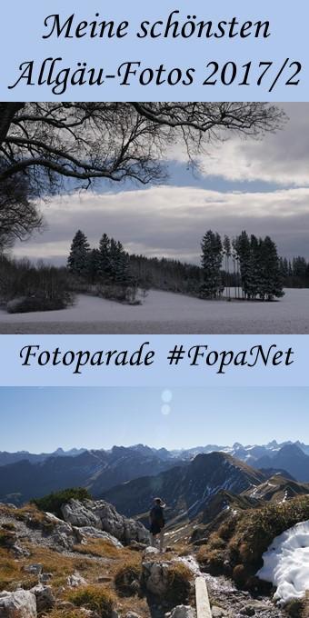 Fotoparade #FopaNet - meine schönsten Allgäu-Fotos 2017 aus dem 2. Halbjahr