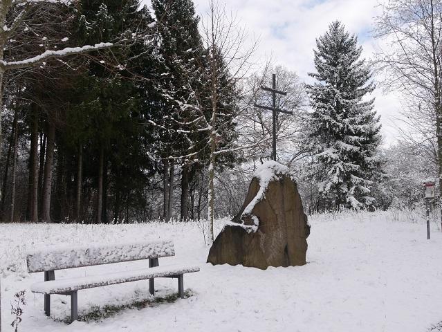 Gedenkstein für Clemens Wenzeslaus bei Marktoberdorf