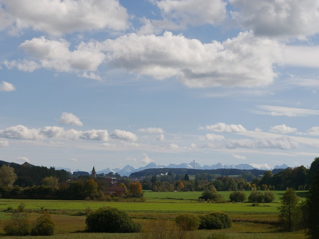 Landschaft - das Günztal bei Obergünzburg #FopaNet