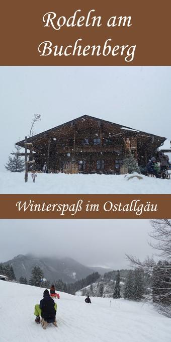 Rodeln am Buchenberg im Ostallgäu