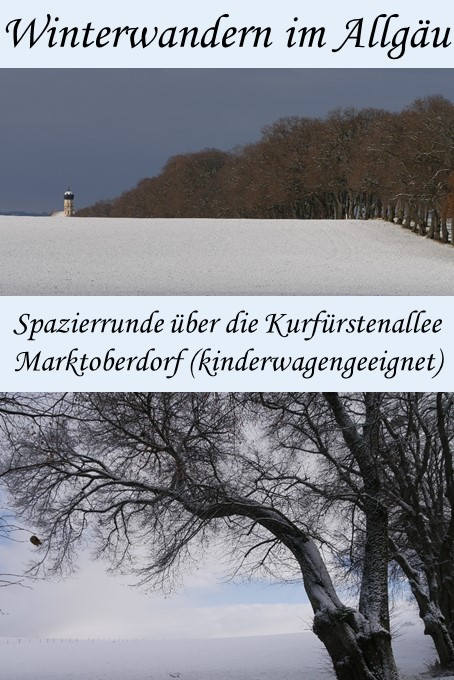 Winterwanderung über die Kurfürstenallee Marktoberdorf