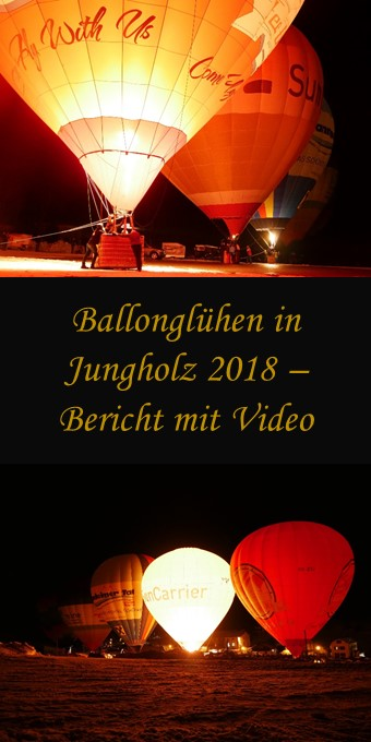 Ballonglühen Jungholz 2018
