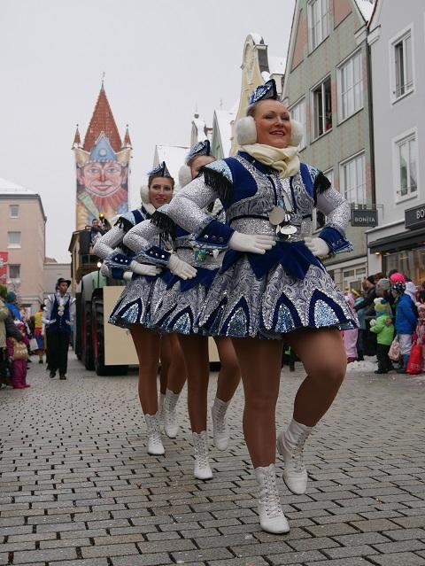 Faschingsumzug Mindelheim 2018 - Garde der Pfaffelonia