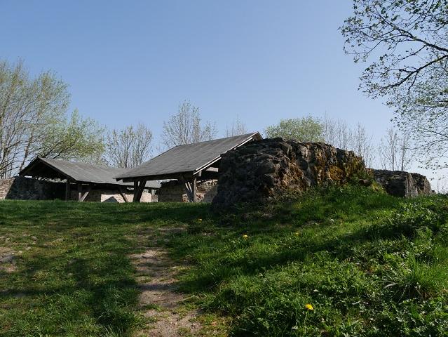 Die Burgruine Wolkenberg bei Wildpoldsried