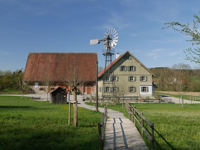 Eingang zum Bauernhaus-Museum Wolfegg
