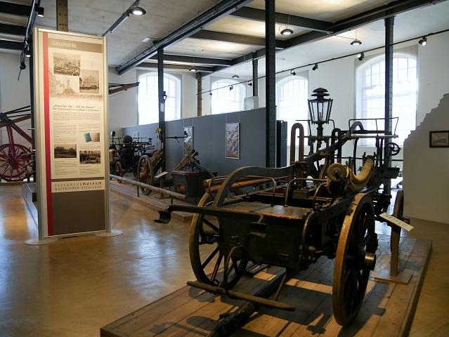 Feuerwehrmuseum Kaufbeuren - Ausstellung im Obergeschoss
