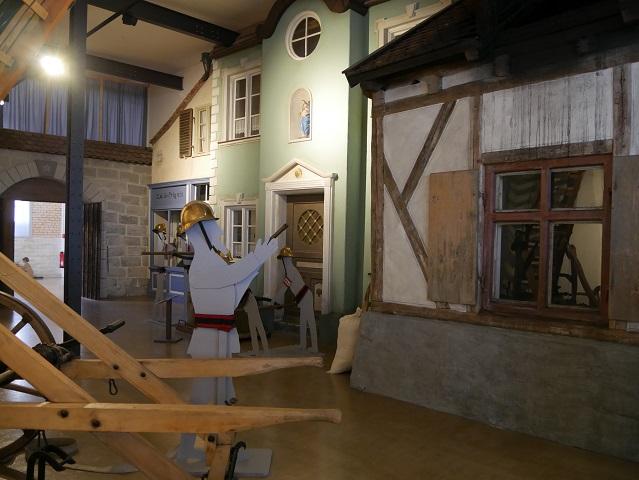 Kaufbeurer Altstadtszene im Feuerwehrmuseum