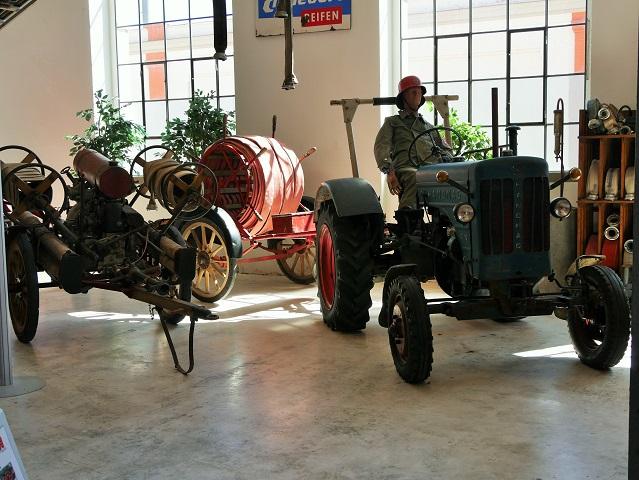 alte Gerätschaften im Feuerwehrmuseum Kaufbeuren