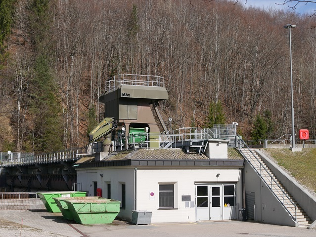 das Illerkraftwerk Fluhmühle