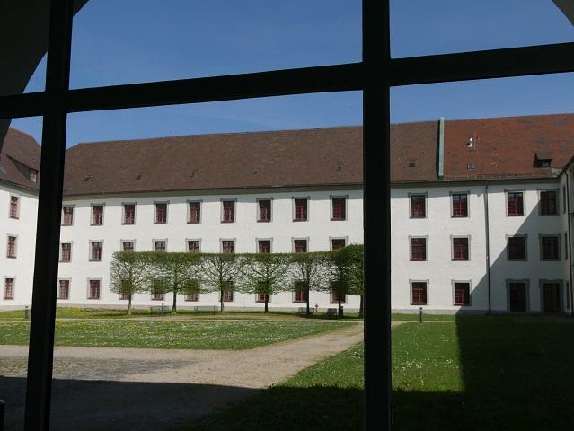 Blick in den Innenhof der Residenz Kempten