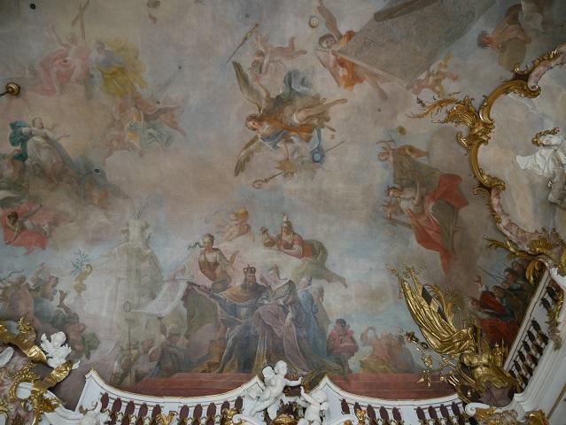 Karl der Große und seine Gemahlin Hildegard