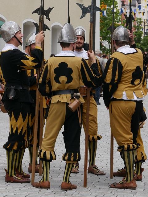 Stadtbüttel ganz entspannt in Mindelheim