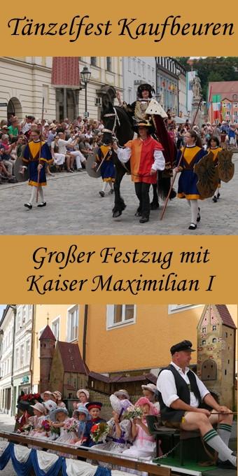 Tänzelfest Kaufbeuren - großer Festzug 2018