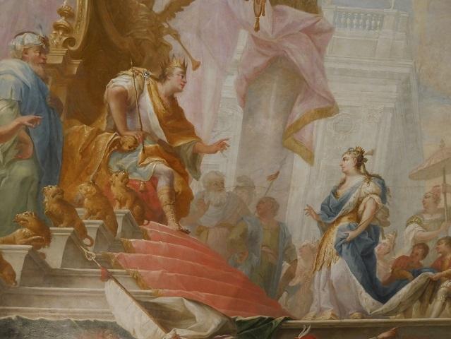 die Königin von Saba vor Salomon
