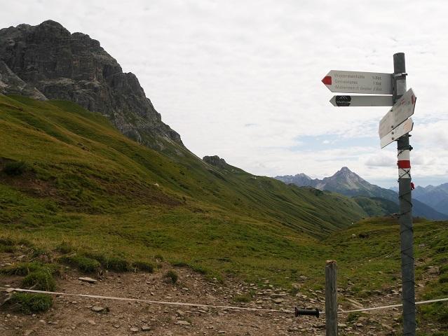 Wegweiser zur Widdersteinhütte