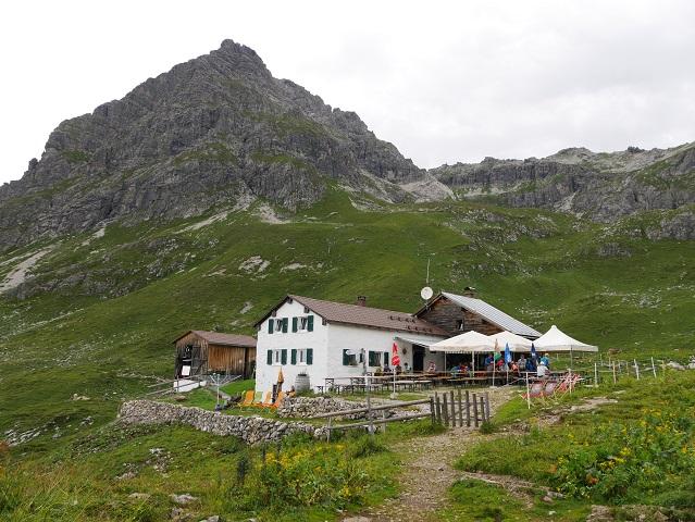 die Widdersteinhütte im Kleinwalsertal
