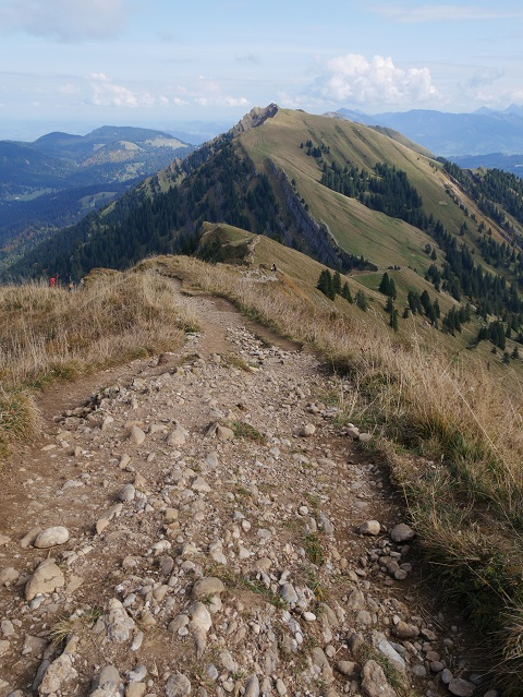 Gratwanderweg übers Hochgrat im Allgäu