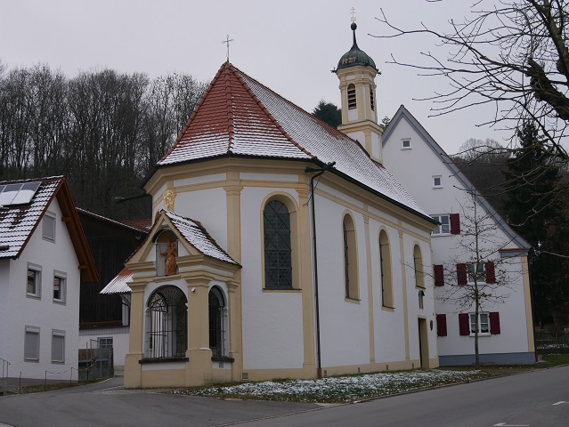 Die Liebfrauenkapelle in Mindelheim - Außenansicht