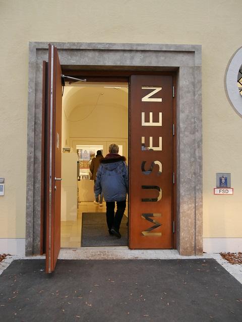 Eingang zu den Museen der Stadt Mindelheim