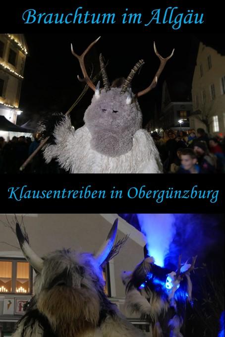 Klausentreiben im Allgäu - Obergünzburg