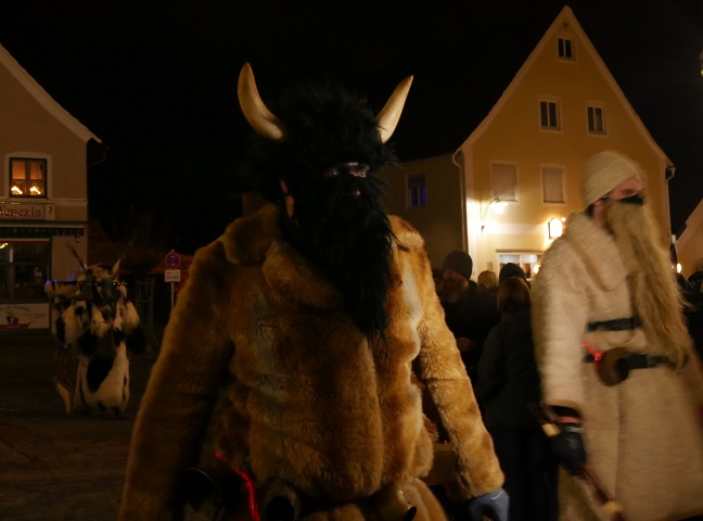 Klausentreiben in Obergünzburg