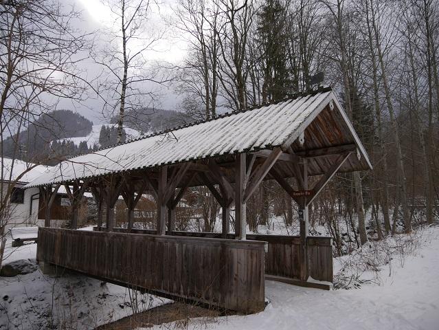 Holzbrücke in Pfronten-Kappel