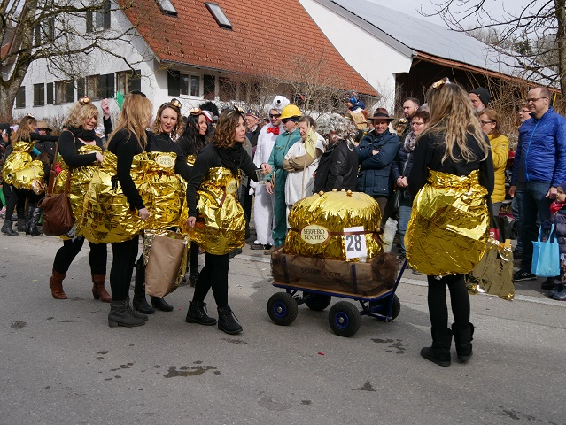 Faschingsumzug Obergünzburg 2019 - Ferrero Rocher
