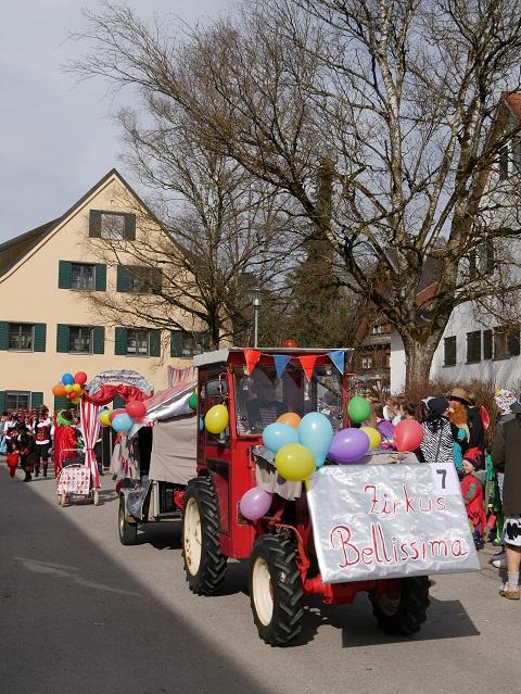 Faschingsumzug Obergünzburg 2019 - Zirkus Belissima
