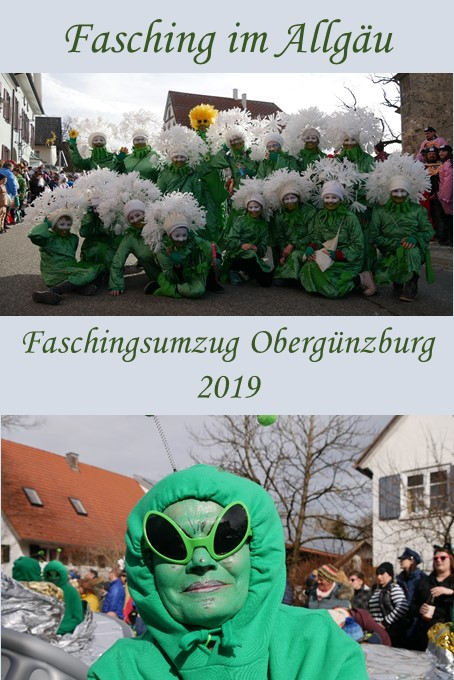 Faschingsumzug Obergünzburg 2019