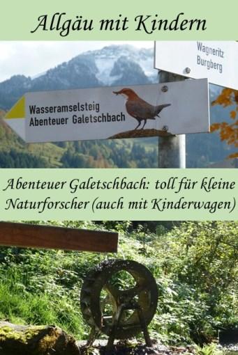 Abenteuer Galetschbach in Rettenberg im Allgäu