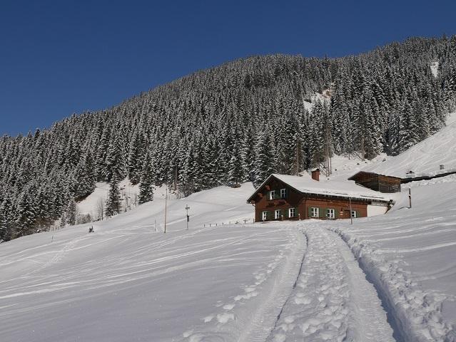 die Innere Wiesalpe im Wildental im Winter