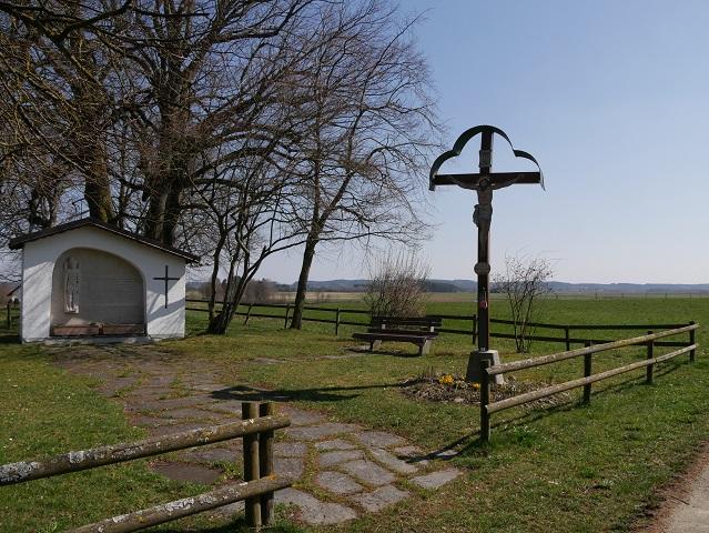 die Pestacker-Gedenkstätte bei Bad Wörishofen