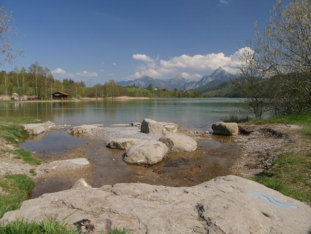 Badeplatz am Weißensee