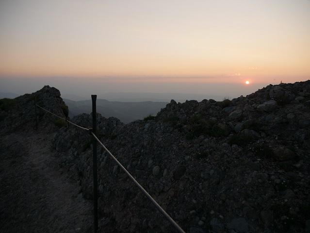 Bei Sonnenuntergang auf dem Hochgrat