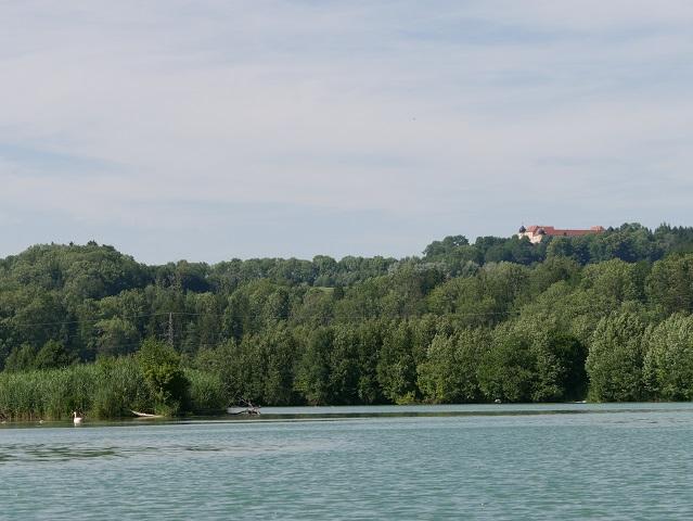 Blick auf Schloss Kroburg