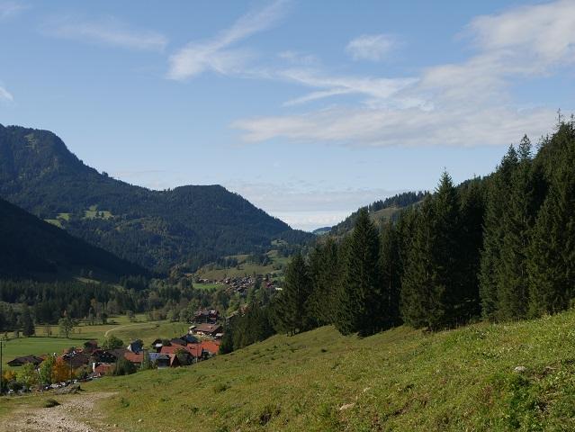 Blick ins Hintersteiner Tal