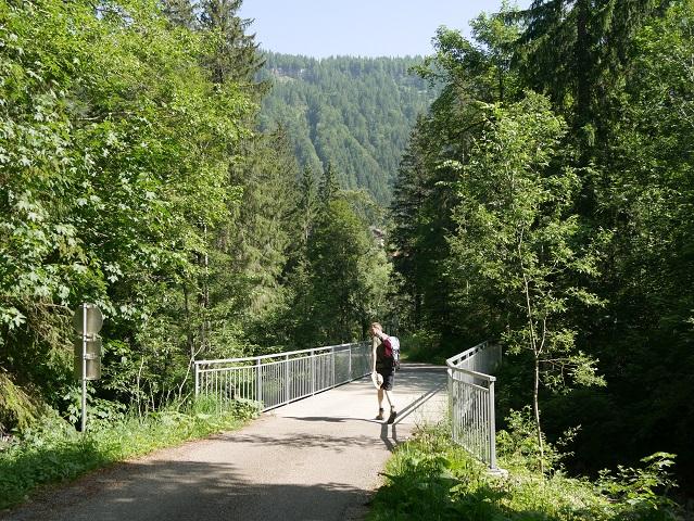Brücke über die Bolgenach bei Balderschwang
