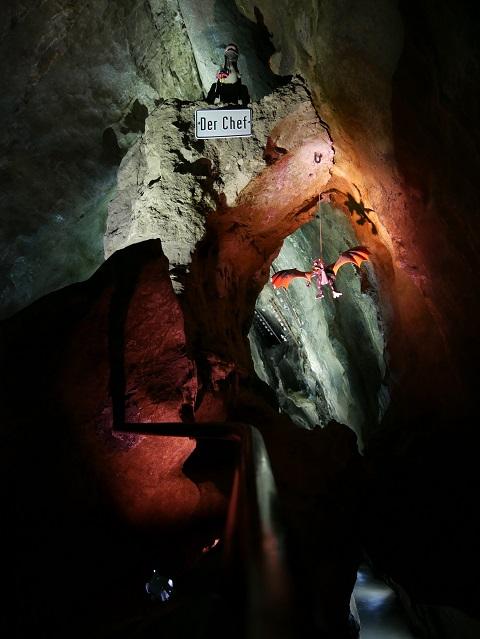 das Drachentor in der Sturmannshöhle