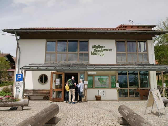 Eingang zum Allgäuer Bergbauernmuseum